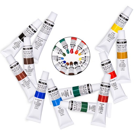 Acrylic Paint vibrandt colors for wood, canvas, fabric, etc